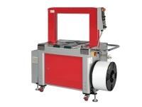 Reggiatrice automatica di colore rosso. TP-702B
