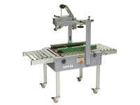Semi-automatic taping machine, with operator. GEM 52