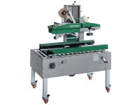 Semi-automatic taping machine, with operator. GEM 520