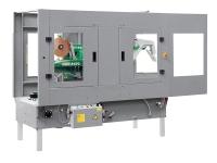 Macchinanastratrice semi automatica, da linea. GEM F470-470G