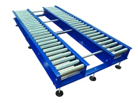 Idle blue roller for heavy duty pallets
