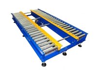 Motorized blue rollerfor pallets heavy duty